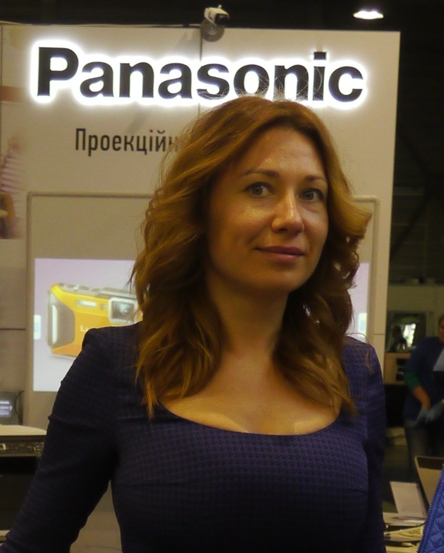 АЛИСА ЛАВРЕНТЬЕВА Panasonic Ukraine