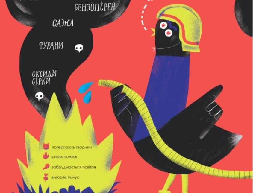 Крім пожеж: які ще небезпечні наслідки має спалення рослинності?