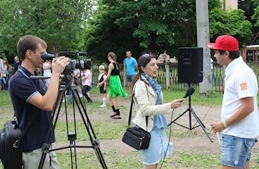 Hot start to summer in Lozova